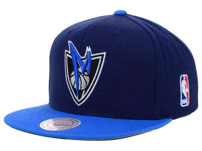 Dallas Mavericks Mitchell and Ness NBA XL Logo Snapback Cap