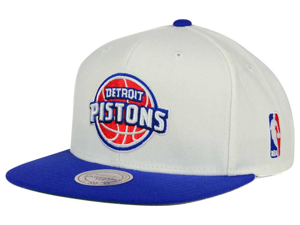 official photos 72410 49a92 ... greece detroit pistons mitchell ness nba xl logo snapback cap 57616  c0182