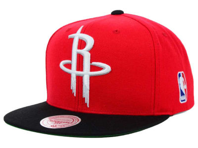 Houston Rockets Mitchell and Ness NBA XL Logo Snapback Cap