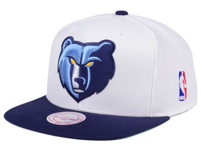 Memphis Grizzlies Mitchell and Ness NBA XL Logo Snapback Cap