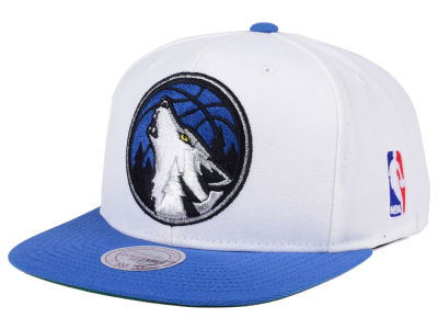 Minnesota Timberwolves Mitchell and Ness NBA XL Logo Snapback Cap