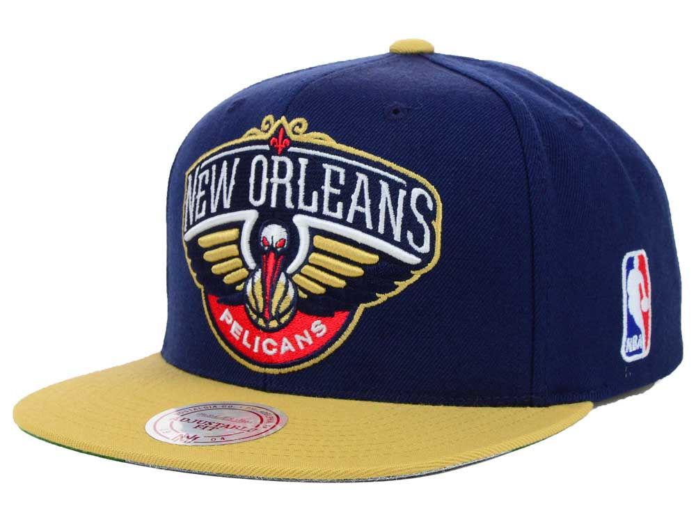 7729565c9d6 new arrivals presto snapback charlotte hornets 3b94a 629b1  real new  orleans pelicans mitchell ness nba xl logo snapback cap lids 8da21 57e3a