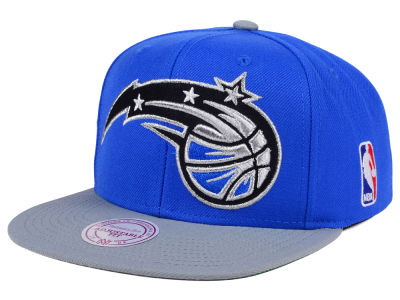 Orlando Magic Mitchell and Ness NBA XL Logo Snapback Cap
