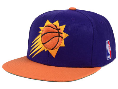 Phoenix Suns Mitchell and Ness NBA XL Logo Snapback Cap