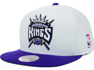 Sacramento Kings Mitchell & Ness NBA XL Logo Snapback Cap