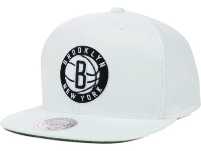 Brooklyn Nets Mitchell and Ness NBA Solid Snapback Cap