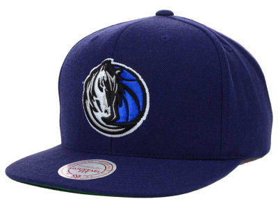 Dallas Mavericks Mitchell and Ness NBA Solid Snapback Cap