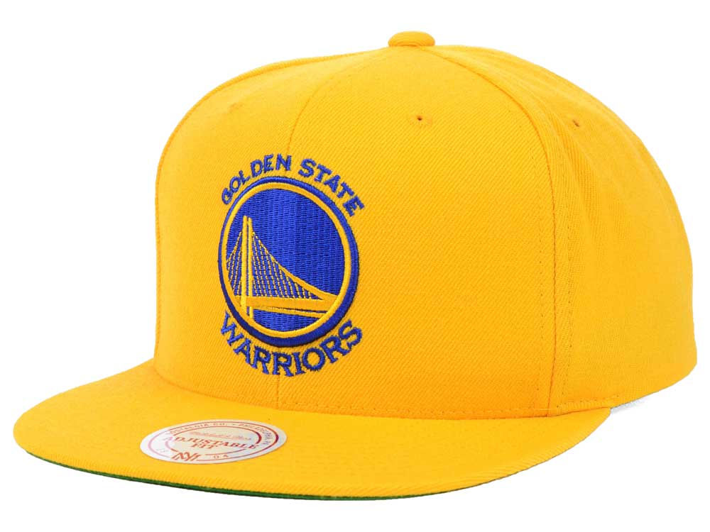 reputable site 46769 01da2 ... aliexpress golden state warriors mitchell ness nba solid snapback cap  8c61b 69895