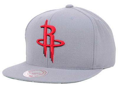 Houston Rockets Mitchell and Ness NBA Solid Snapback Cap