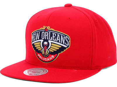 New Orleans Pelicans Mitchell and Ness NBA Solid Snapback Cap