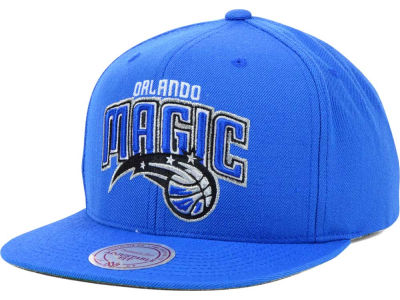 Orlando Magic Mitchell and Ness NBA Solid Snapback Cap