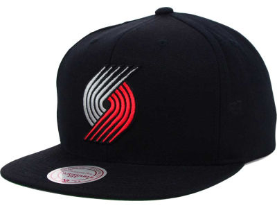 Portland Trail Blazers Mitchell and Ness NBA Solid Snapback Cap