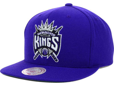 Sacramento Kings Mitchell and Ness NBA Solid Snapback Cap