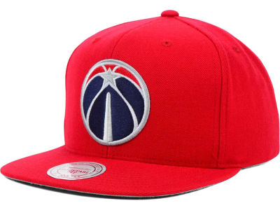 Washington Wizards Mitchell and Ness NBA Solid Snapback Cap