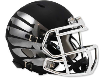 Oregon Ducks Titanium Eclipse Speed Mini Helmet