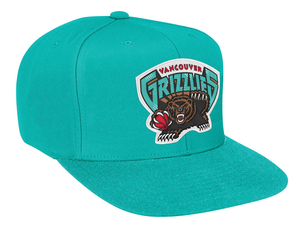 Vancouver Grizzlies Mitchell   Ness NBA Solid Snapback Cap  fc48268f5496