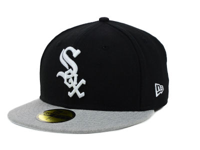 Chicago White Sox New Era MLB Team Heather 59FIFTY Cap