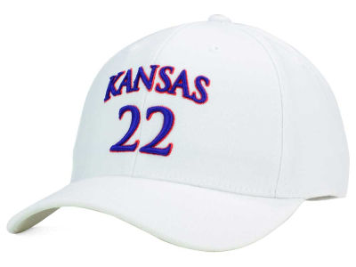 Kansas Jayhawks Top of the World NCAA White PC Cap