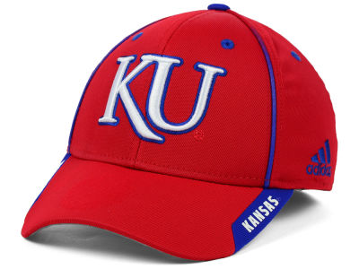 Kansas Jayhawks adidas NCAA 2014 Coaches Flex Hat