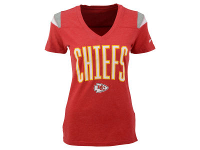 Kansas City Chiefs Nike NFL Womens Wordmark Fan Top