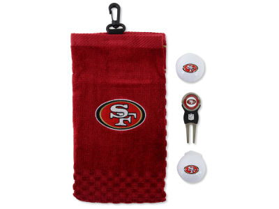San Francisco 49ers Golf Towel Gift Set