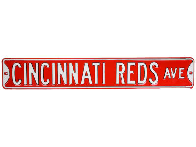 Cincinnati Reds Team Street Sign