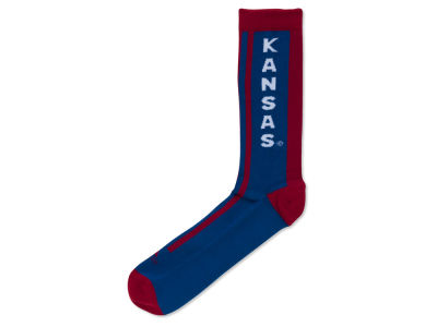 Kansas Jayhawks adidas Fan Gear Striped Sock