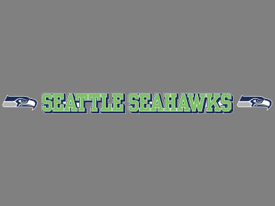 Seattle Seahawks Long Decal