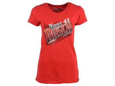 Kurt Busch NASCAR 2014 Ladies Fabricator T-Shirt