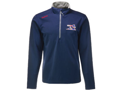 Montreal Alouettes Reebok CFL Men's Sideline 1/4 Zip Base Layer Pullover Shirt