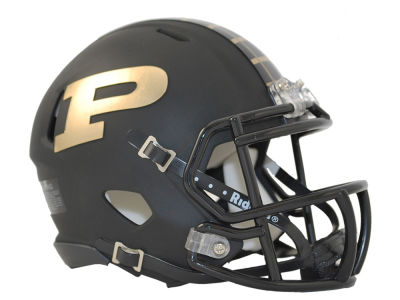 Purdue Boilermakers Matte Speed Mini Helmet