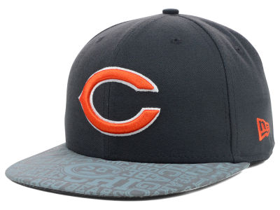 Chicago Bears New Era 2014 NFL Draft Graphite 59FIFTY Cap