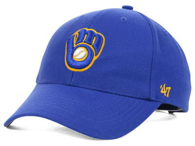 Milwaukee Brewers '47 MLB On Field Replica '47 MVP Cap