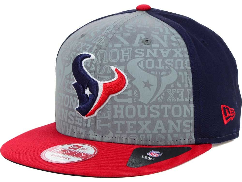 Houston Texans New Era 2014 NFL Draft 9FIFTY Snapback Cap  4412be92302c