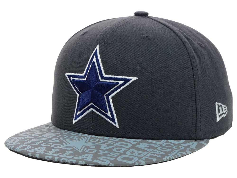 bf04889b869 Dallas Cowboys New Era 2014 NFL Draft Graphite 59FIFTY Cap