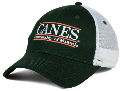 Miami Hurricanes NCAA Mesh Bar Cap