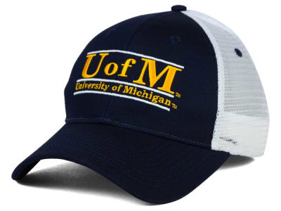 Michigan Wolverines NCAA Mesh Bar Cap