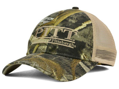 Pittsburgh Panthers NCAA Camo Mesh Bar Snapback Cap