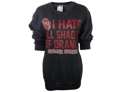 Oklahoma Sooners NCAA Mens Hate All Shades Crew Sweatshirt