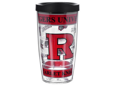 Rutgers Scarlet Knights 16oz Wrap Tumbler With Lid