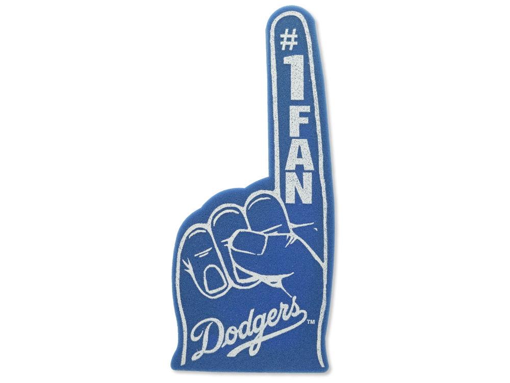 Los Angeles Dodgers Foam Finger Lids