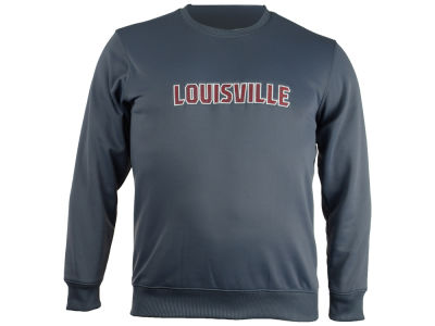 Louisville Cardinals adidas NCAA Men's Mark My Words Crew Sweatshirt