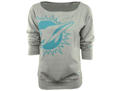 Miami Dolphins Nike NFL Women's Off the Shoulder Sweatshirt