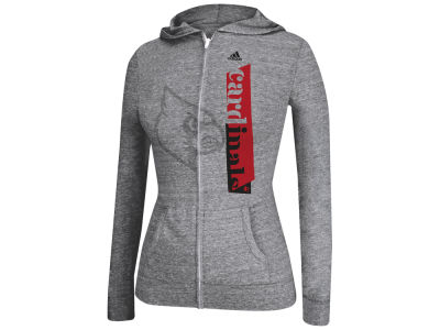 Louisville Cardinals adidas NCAA Women's Down The Line Full Zip Hoodie