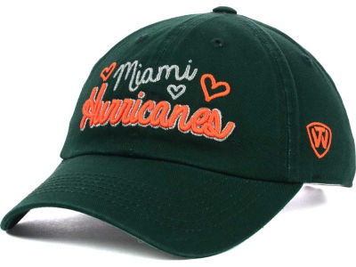 Miami Hurricanes Top of the World NCAA Sweetie Adjustable Cap