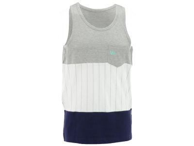 New Era Branded Printed Stripe Tank