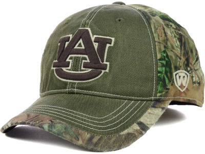 Auburn Tigers Top of the World NCAA Laylow Camo One-Fit Cap