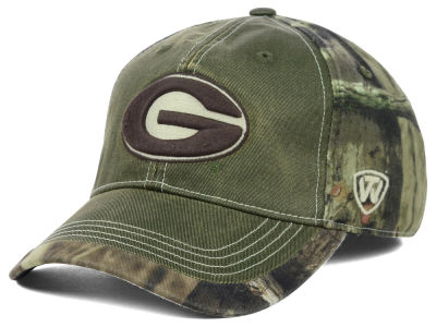 Georgia Bulldogs Top of the World NCAA Laylow Camo One-Fit Cap