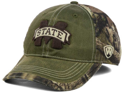 Mississippi State Bulldogs Top of the World NCAA Laylow Camo One-Fit Cap