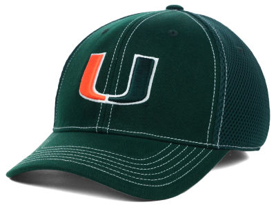 Miami Hurricanes Top of the World NCAA Raider Memory-Fit Cap